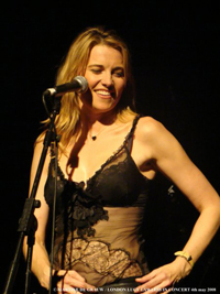 Lucy Lawless London Concert 2008