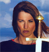 Lucy Lawless Warrior Woman